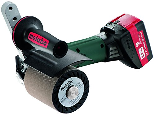Metabo S18 LTX 115 5.2 18V Burnisher Kit, Green/Black