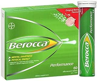 Berocca Performance Original Effervescent 60 Tablets Exclusive Size