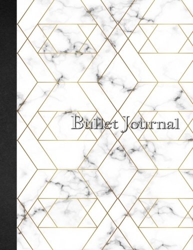 Bullet Journal: A4 Watercolor & Marbre - 160 pages - couverture souple 'glossy' Dot point, bullet journal, dot grid, planner, planning, organizer, journal