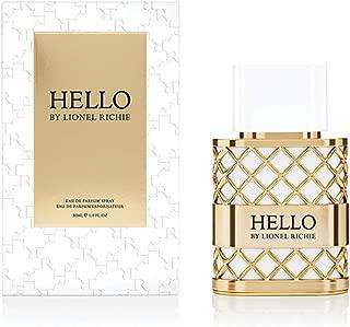 HELLO by Lionel Richie Eau de Parfum | Spray Fragrance for Women | Notes of Pear, Modern Jasmine, Modern Tuberose, Honey | 1.0 oz/30 mL