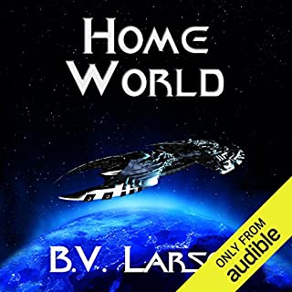Home World     Undying Mercenaries, Book 6              Written by:                                                                                                                                 B. V. Larson                               Narrated by:                                                                                                                                 Mark Boyett                      Length: 12 hrs and 55 mins     27 ratings     Overall 4.8