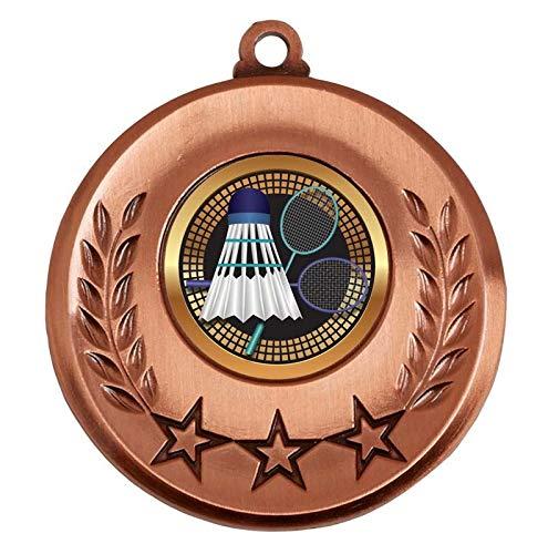 Spectrum Eishockey-Medaille, personalisierbar, Bronze