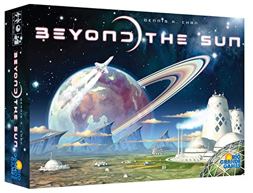 Rio Grande Games Beyond The Sun Strategy Board Game for 2-4 Players, Ages 14+