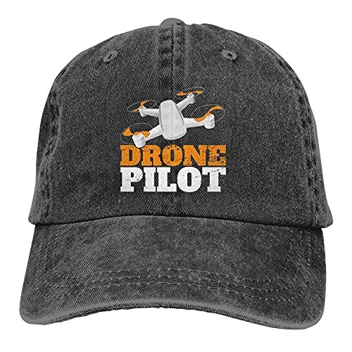 Jopath Drone Pilota Cappello Cappello Unisex Vintage Trucker Cappello Regolabile Cowboy