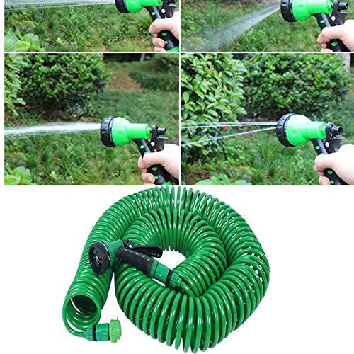 Mangueras de jardín 7.5/15 / 30M Agua de la Manguera expansible Flexible mágico de plástico Mangueras Tubo con riego por aspersión riego Pistola (Color : 30m)