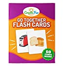 Go Together Flash Cards   50 Matching Language Development Educational Photo Cards   with 7 Starter Learning Games   for Parents, The Classroom, Speech Therapy Materials and Montessori Materials