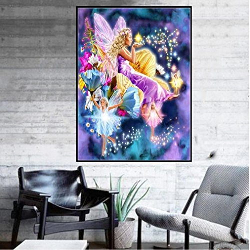Pandaie To America!!! Dancing Fairy 5D Diamond Painting Full Drill Kits for Adults Embroidery Cross Stitch(all 5% off, three 10% off)