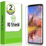 IQ Shield Screen Protector Compatible with Samsung Galaxy S9 (2-Pack)(Edge to Edge)(Max Coverage) LiquidSkin Anti-Bubble Clear Film