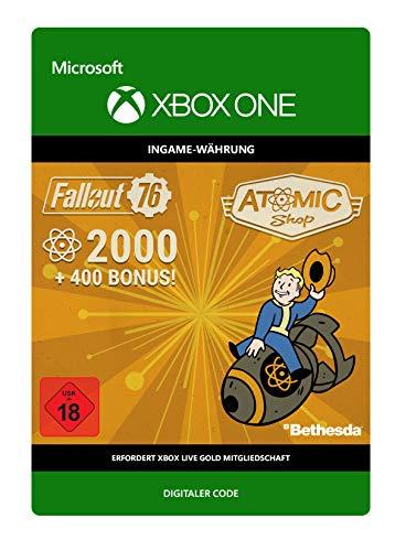 Fallout 76: 2000 (+400 Bonus) Atoms | Xbox One - Download Code