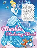 Barbie Coloring Book: Jumbo Barbie Coloring Book For Kids, Girls Ages 4+ With 100 Awesome Illustrations