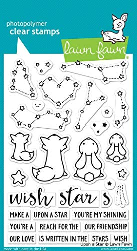 Lawn Fawn Clear Stamps - Upon A Star (LF1407)  
