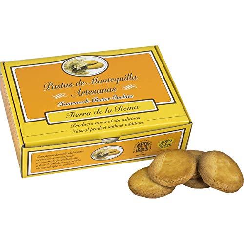 Pastas artesanas de mantequilla Tierra de la Reina de Boca de Huérgano (León) - pack de 4 cajas de 500 g/ud - total 2 kg