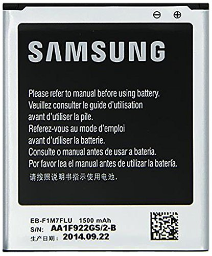 Samsung EB-F1M7FLU - Batteria originale agli ioni di litio per Samsung Galaxy S III Mini (1500mAh) in bulk pack