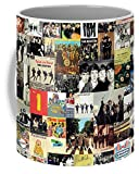 Lplpol The Beatles Collage Tazza da tè da 325 ml