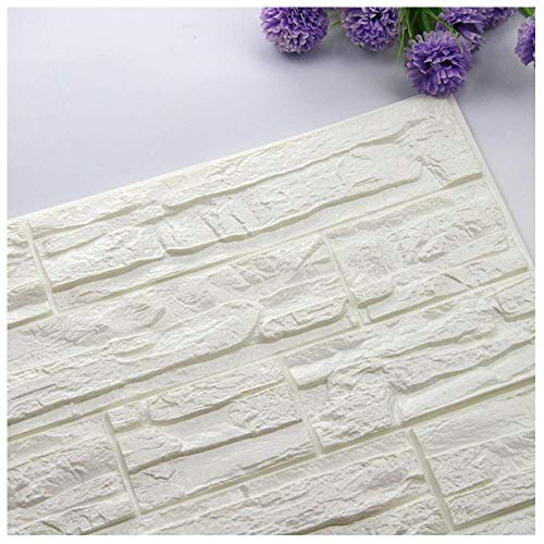 Adesivi Murali 3d Mattoni PE Foam Rimovibile Impermeabile Wall Stickers Muro Adesivi Murales Decorazione Murali Carta Da Parati,Mambain 7 (A)