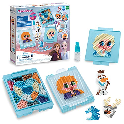 Aquabeads Disney Frozen 2 Playset, Kids Crafts, Beads, Arts and Crafts, Complete Activity Kit for 4+