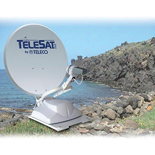 Teleco Telesat Sat-Antenne Autom. Ohne Ricev. Pann. Com. Wandmontage