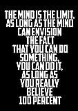 Wandposter mit dem Zitat von Arnold Schwarzenegger,