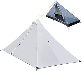 テント ワンポールテント 1~2人用 キャンプテント 簡単設営 防水 (ポールは別売)