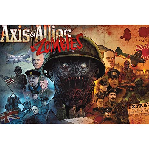 Avalon Hill / Wizards of the Coast: Axis & Allies and Zombies...