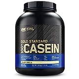 Optimum Nutrition ON 100% Gold Standard Casein Protein, Eiweißpulver Reich an Essentiellen Aminosäuren Komplex, Zink und Magnesium, Creamy Vanilla, 55 Portionen, 1.82kg, Verpackung kann Variieren