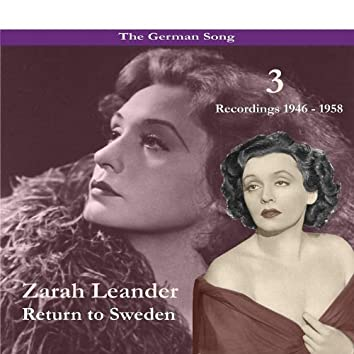The German Song / Return to Sweden, Volume 3 / Recordings 1946 - 1958