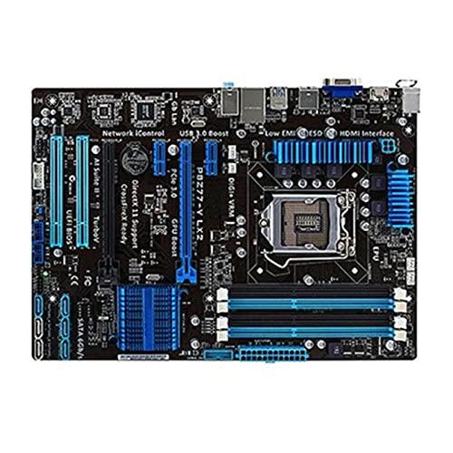 KKLL Apto para ASUS P8Z77-V LX2 Placa Base de computadora LGA 1155 DDR3 para Placa Base de Escritorio Intel Z77 P8Z77 SATA II PCI-E X16