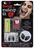 Close Up Kit de Maquillaje de Vampiro con Dientes, Maquillaje y 2 cápsulas de Sangre.