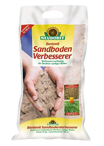 Bentonit SandbodenVerbesserer, 10 Kg zur Aufbereitung von sandigen Böden 1,40 EUR/1Kg