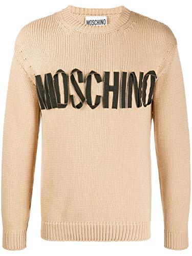 Luxury Fashion | Moschino Heren A091820040018 Beige Katoen Truien | Lente-zomer 20