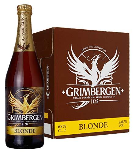 Grimbergen Birra Blonde (Abbazia)- 6 bottiglie da 750 ml