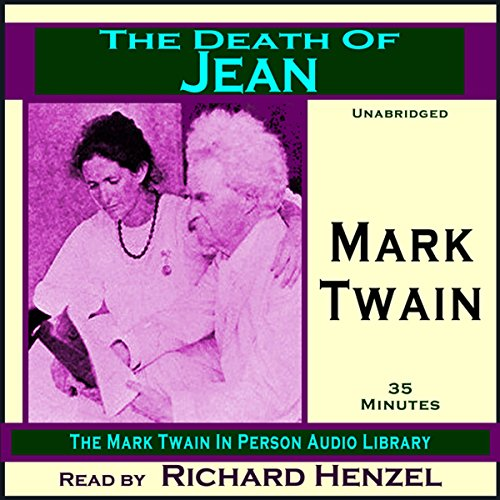 The Death of Jean audiobook cover art