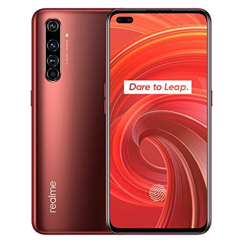 "realme X50 Pro 5G smartphone Cellulari, 8 RAM 128 ROM 6,44"" Snapdragon 865 5G 64MP Quad Camera 65W NFC, Versione UE (Rosso)"