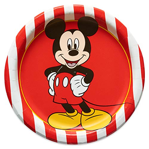 Mickey Mouse Classic Party Dessert Plates - 8 Count