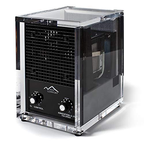 New Comfort 6 Stage UV Ozone Generator Air Purifier Cleaner HEPA Covers 3000 Feet Acyrlic