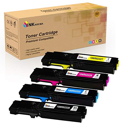106R02225�106R02228�106R02226�106R02227�Toner�Compatible�for�Xerox�Phaser�6600�6605�Toner�Cartridge�Replacement�for�Xerox�Workcentre�6605�Printer by Inkarena
