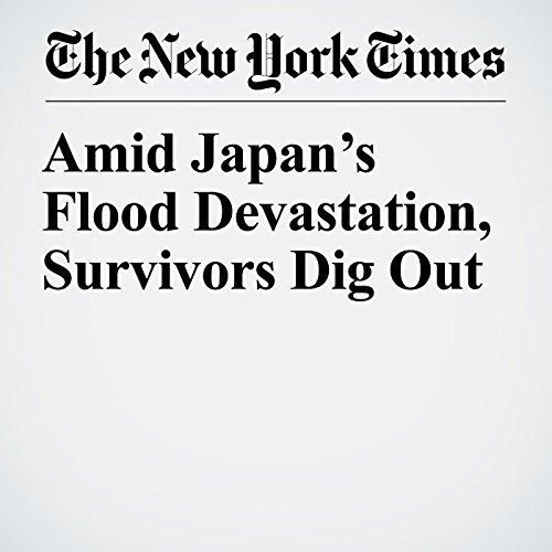 Amid Japan's Flood Devastation, Survivors Dig Out copertina