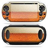 MightySkins Skin Compatible with PS Vita PSVITA Playstation Vita Portable wrap Sticker Skins Beer Buzz