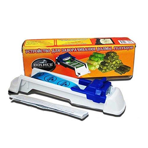 Topker - Outil à rouler les légumes et la viande - Rouleau magique en peluche - Machine à rouler les feuilles de chou farcies et le raisin