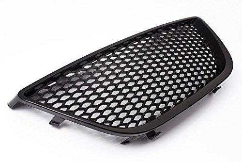 Waben- Gitter- Kühler- Sport- Front- Rippen- Grill ohne Emblem Schwarz Eintragungsfrei