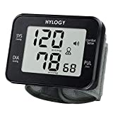 Blood Pressure Monitor, HYLOGY Wrist Blood Pressure Monitor for Home Use, Large Cuff