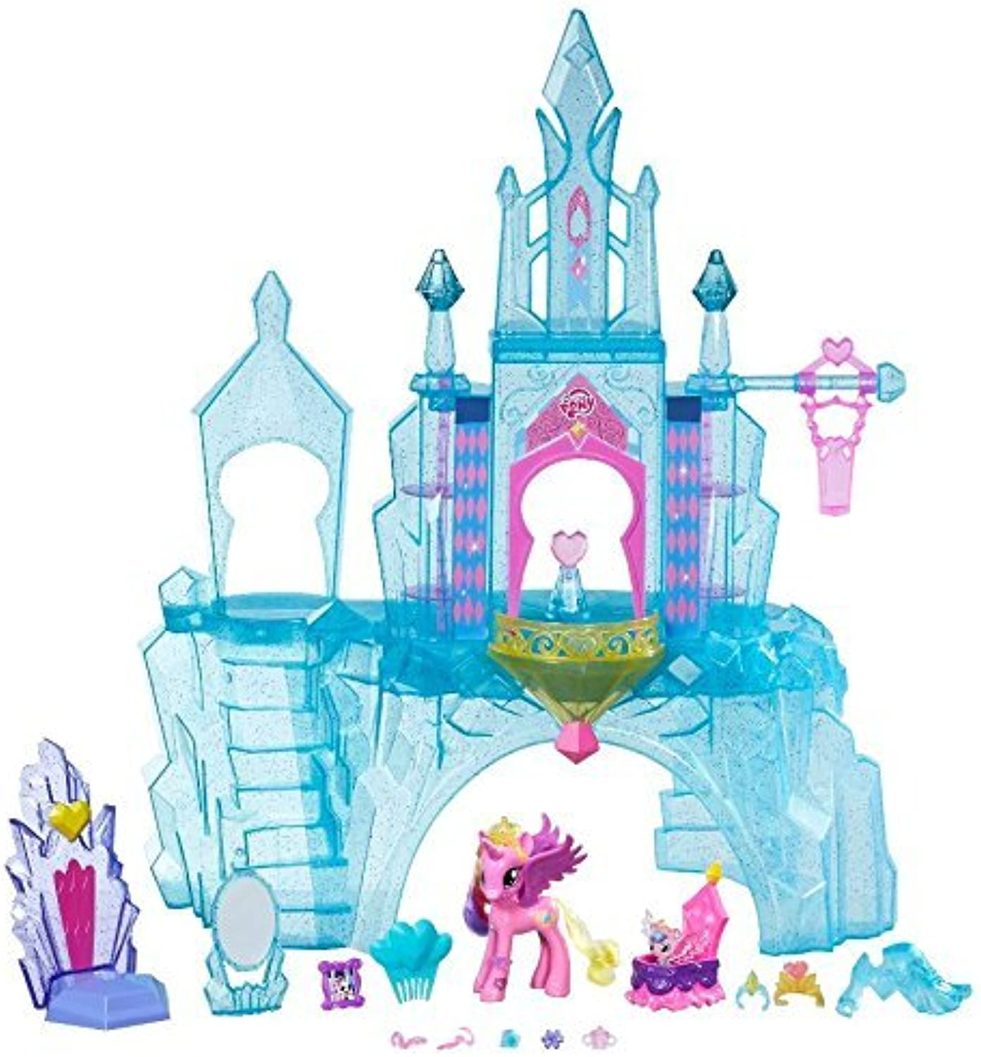 My Little Pony Explore Equestria Crystal Empire Castle Playset by My Little Pony