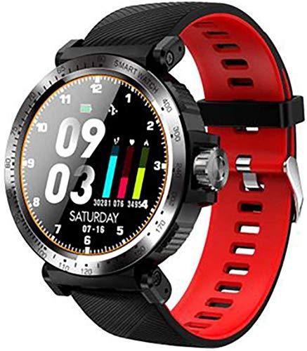 JSL Reloj deportivo inteligente para mujeres y hombres, Android iOS, ritmo cardíaco, presión arterial