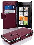 Cadorabo Coque pour Nokia Lumia 900, ORCHIDÉE Violets Fermoire Magnétique Housse de...