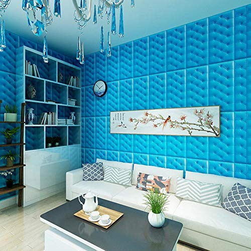 3D Wandpaneele Selbstklebend Steinoptik Tapete, 3D Wall Panel Selbstklebende Wasserdichte Wandplatte für TV-Hintergrund Wohnzimmer Badezimmer Dekoration, 60 X 30 X 1,8cm
