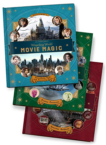 J.K. Rowling's Wizarding World: Movie Magic 3-Book Collection (featuring all 8 Harry Potter movies and Fantastic Beasts and Where to Find Them)