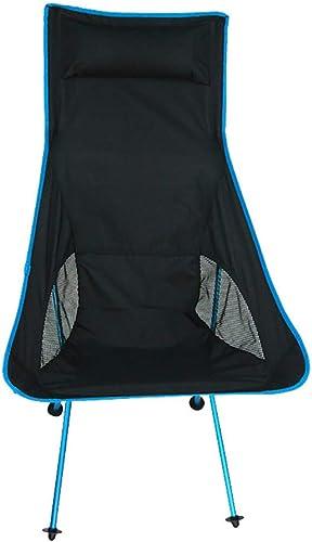 Chenyuan Chaise de Plage Pliante extérieure multifonctionnelle Chaise de Plage pêche Portable Dossier de Camping Chaise Pliante pour la Famille