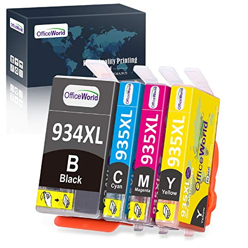 OfficeWorld Compatible Ink Cartridge Replacement...