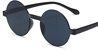 88f86a4581 Gafas de Sol de Círculo Redondo Steampunk Estilo Flip Up Retro Sin Marco  para Mujer Hombre