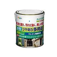 アサヒペン 水性ツヤあり多用途 黒1.6L